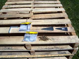 how to build a pallet for shipping