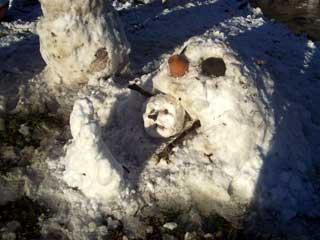 Calvinesque Snowman