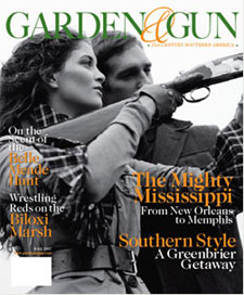 Cover of Garden and Gun Magazine