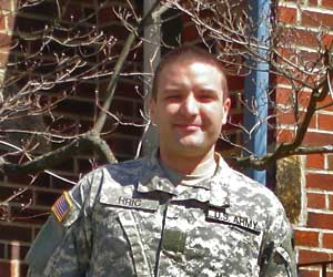 Jeff in Uniform
